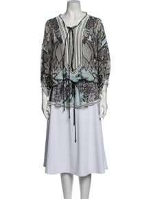 Roberto Cavalli Printed Cover-Up