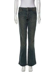 Roberto Cavalli Mid-Rise Wide Leg Jeans