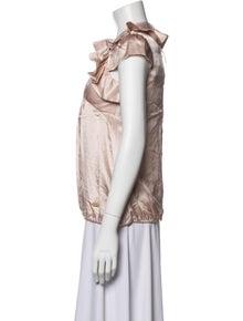 Roberto Cavalli Angels Girls' Silk Ruffle Dress w/ Tags