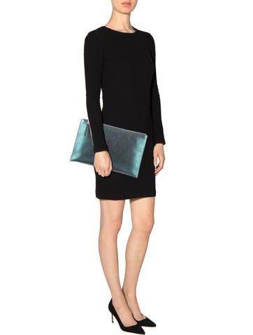 Metallic Clutch w/ Tags