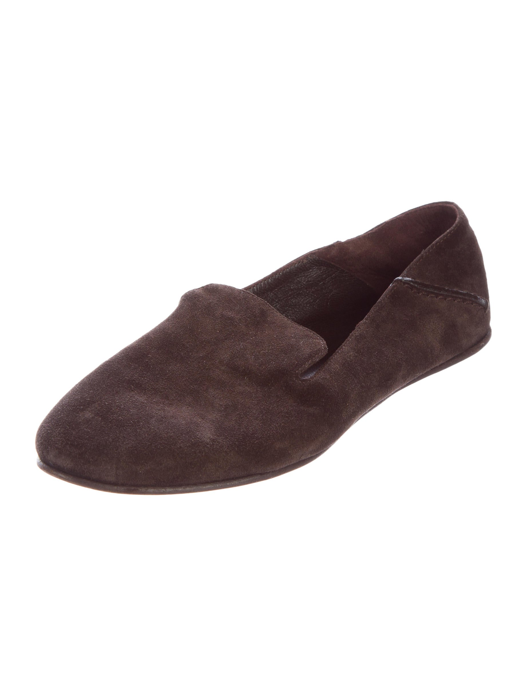 Rochas Suede Round-Toe Loafers outlet order online discount best free shipping visit ssBvQ298