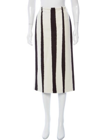 Rochas 2015 Striped Skirt w/ Tags None