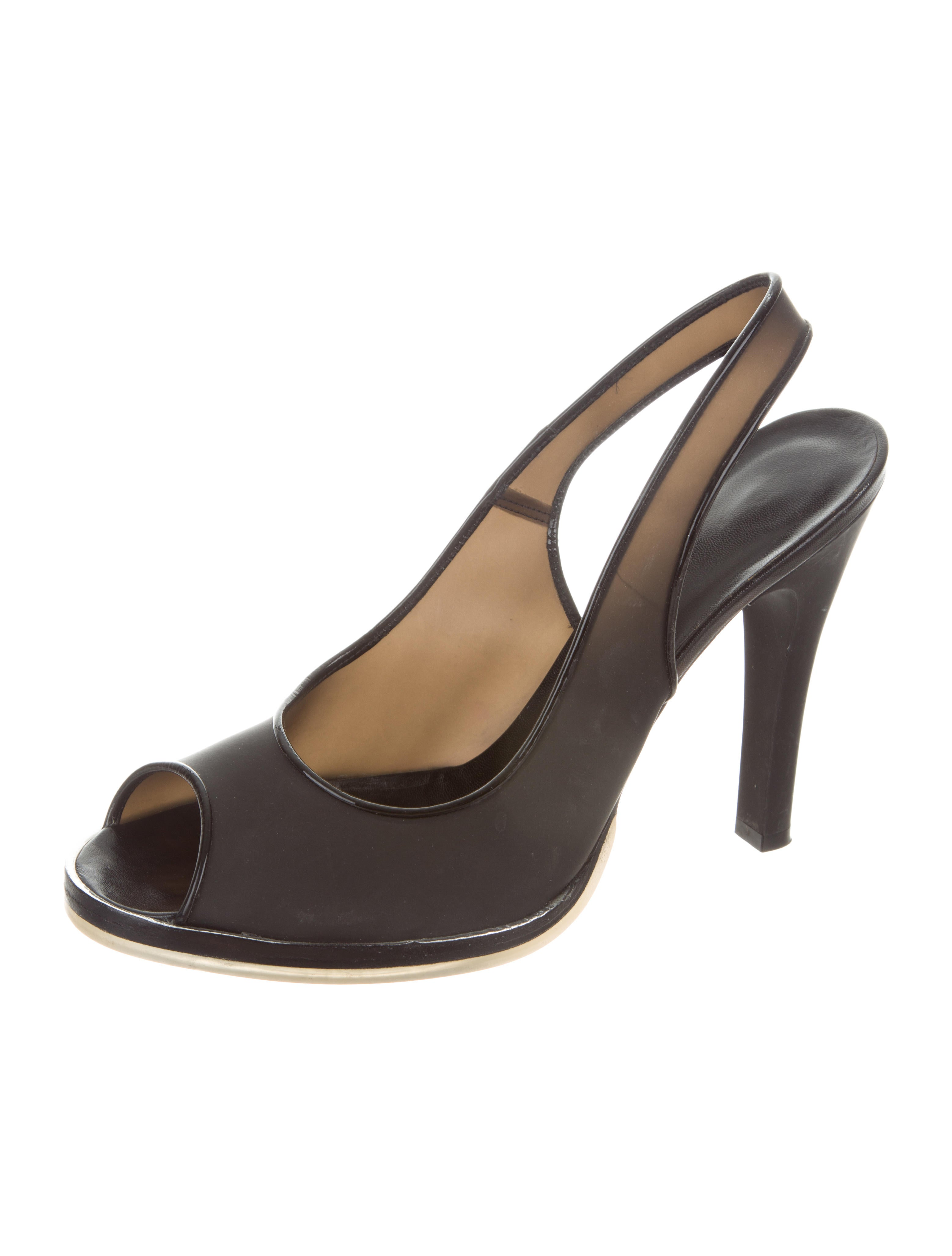 cheap sale many kinds of buy cheap excellent Rochas PVC Slingback Sandals Pvf0xqu