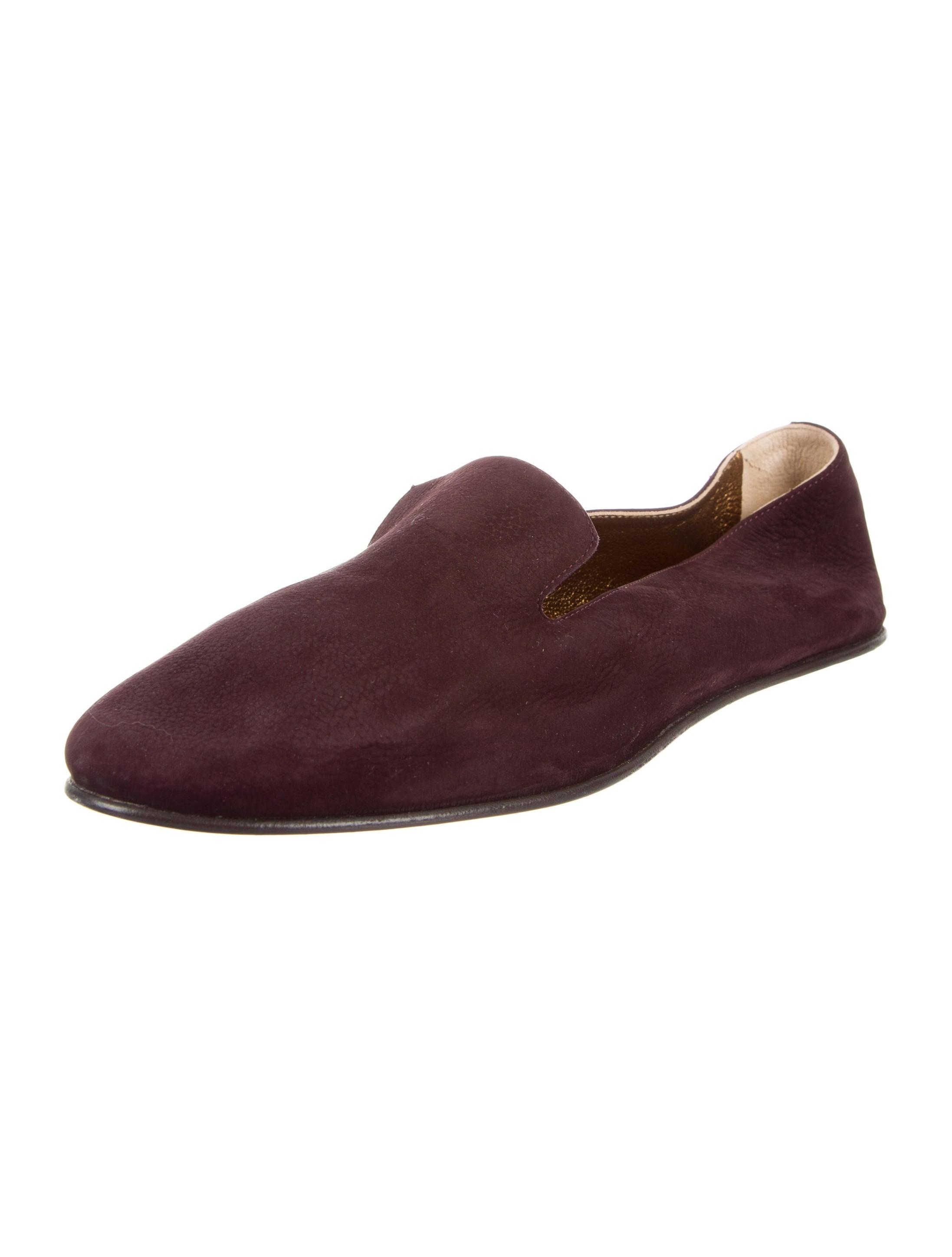footlocker cheap online Rochas Nubuck Round-Toe Loafers release dates MwXifMBS