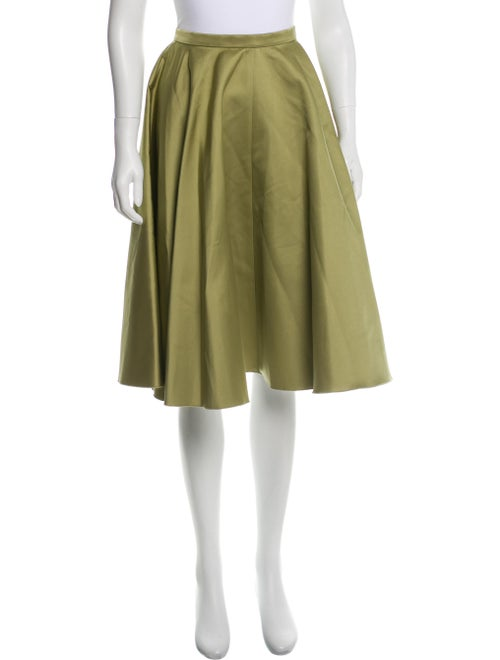 Rochas Satin Circle Skirt