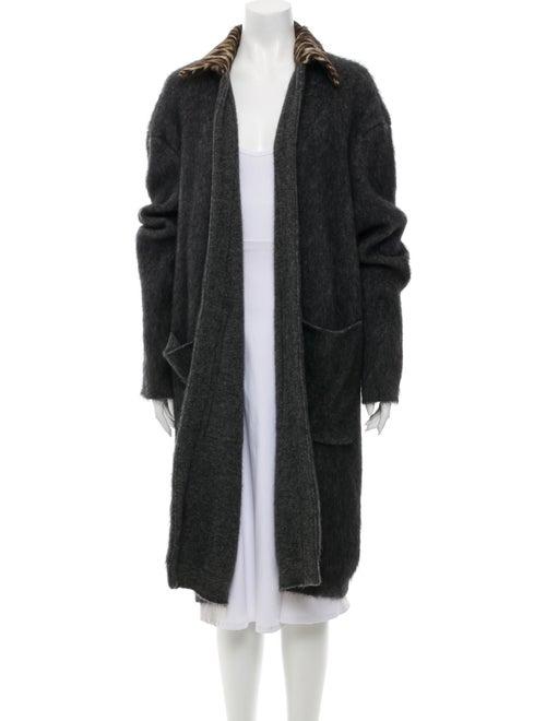 Rochas Coat Grey