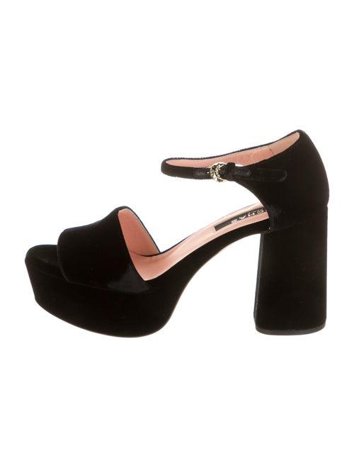 Rochas Sandals w/ Tags Black