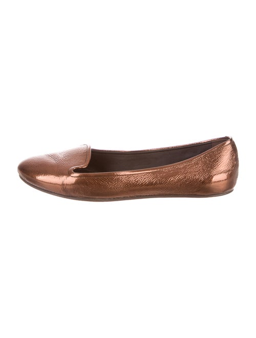 Rochas Leather Loafers Brown