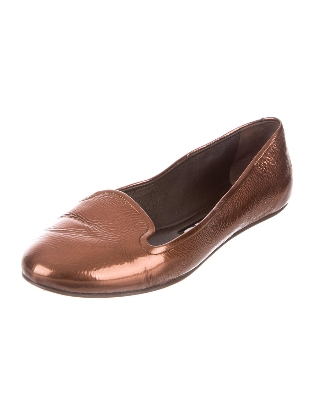 Rochas Leather Loafers Brown - image 2