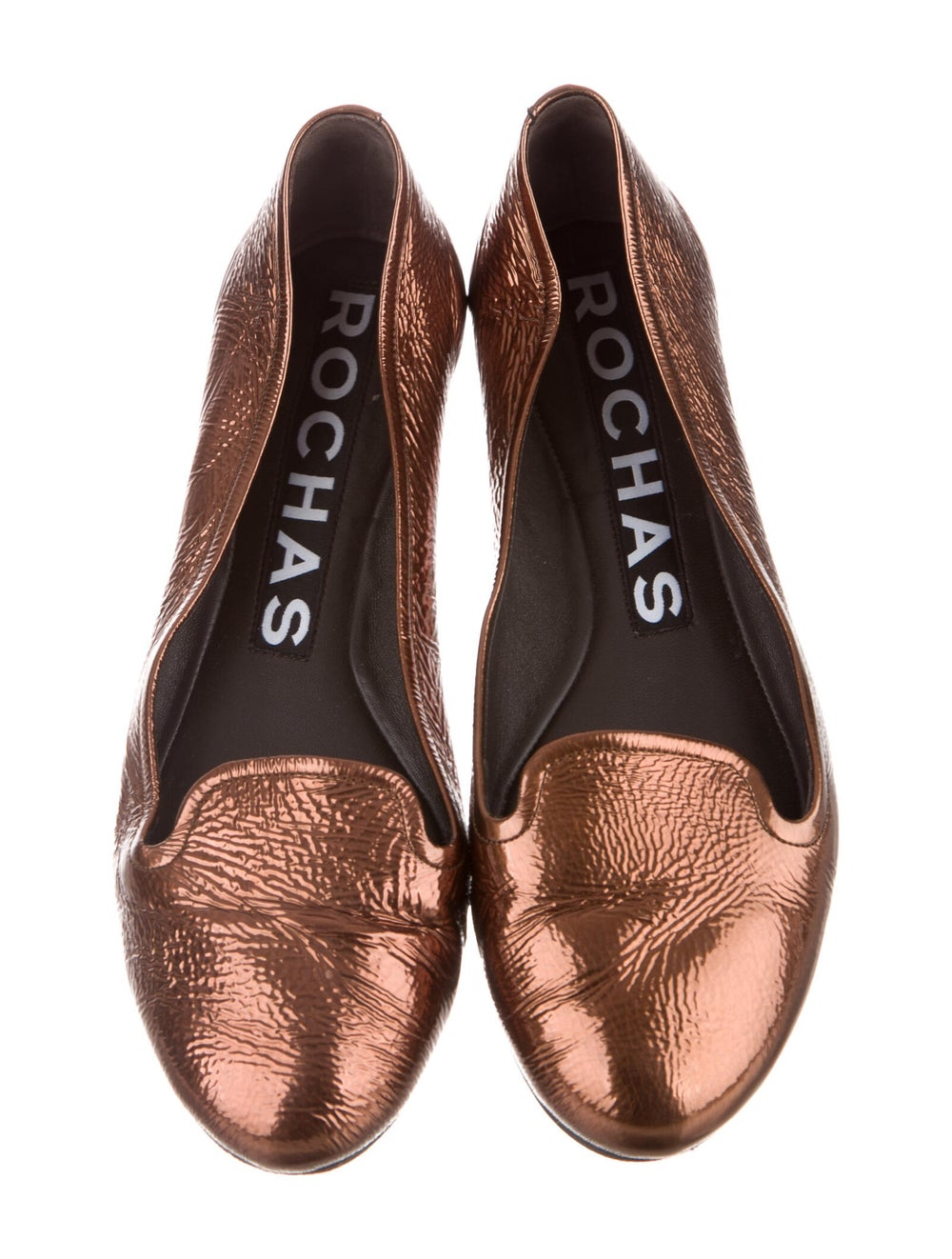 Rochas Leather Loafers Brown - image 3