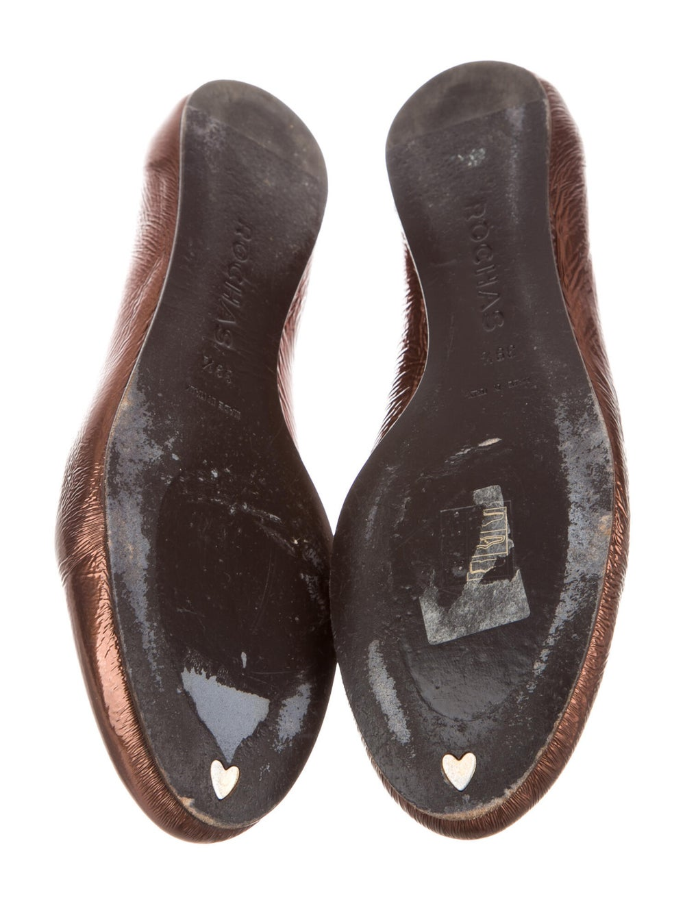 Rochas Leather Loafers Brown - image 5