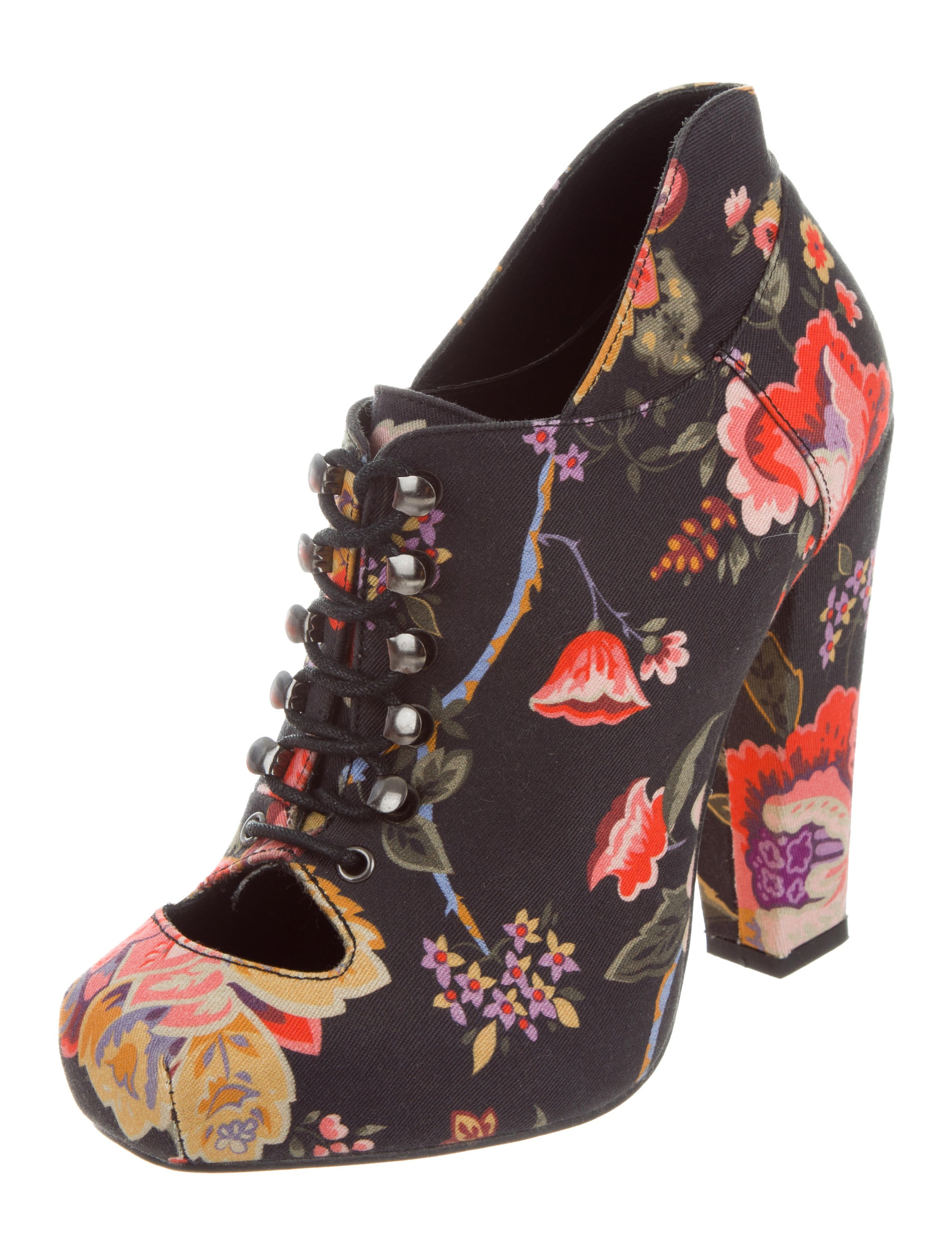 Rodarte x Opening Ceremony Floral Print Ankle Boots outlet 100% original order cheap price free shipping in China buy cheap with mastercard supply online QsfmI3