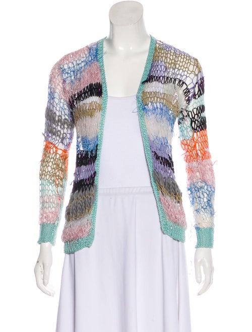 Rodarte Lightweight Knit Cardigan Multicolor
