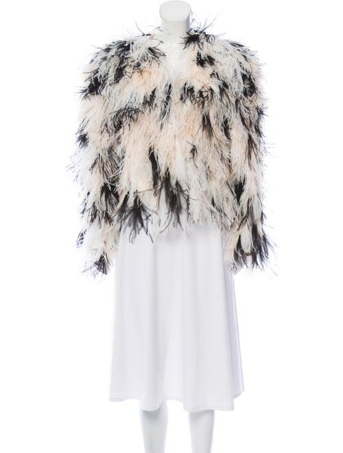 Rodarte 2018 Ostrich Evening Jacket