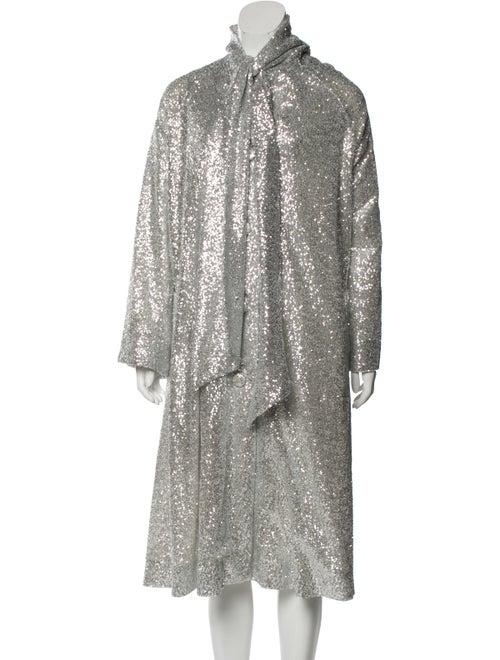 Rodarte Evening Jacket Silver