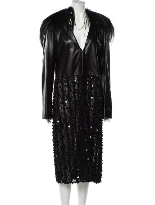 Rodarte 2016 Coat Black