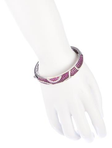 Pink Sapphire Fantasia Bracelet