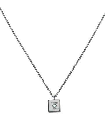 Diamond Dice Necklace