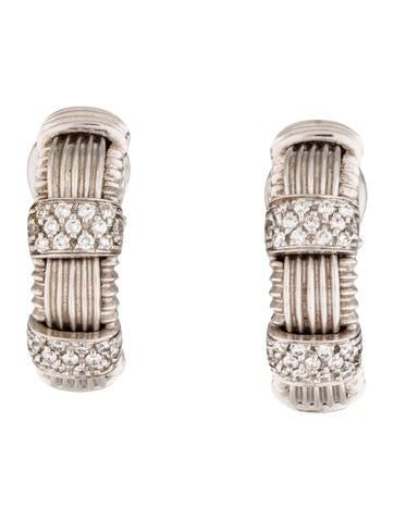 Roberto Coin Appassionata Huggie Clip-On Earrings