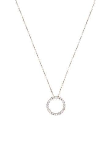 Diamond Circle of Life Pendant Necklace