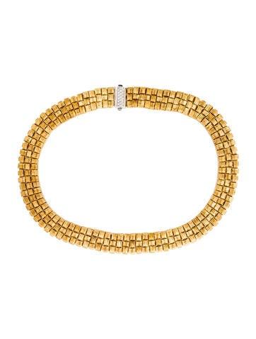 Roberto Coin 3-Row Appassionata Collar Necklace