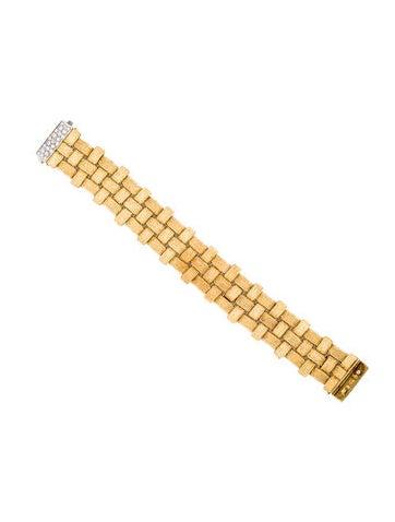 Roberto Coin Diamond Appassionata Link Bracelet