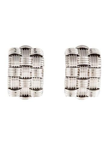 Roberto Coin 3-Row Appassionata Huggie Clip-On Earrings
