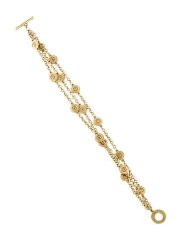 Roberto Coin Diamond Disc Multistrand Bracelet