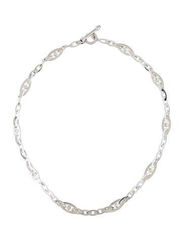 Roberto Coin Diamond & Sapphire Chic & Shine Link Necklace None
