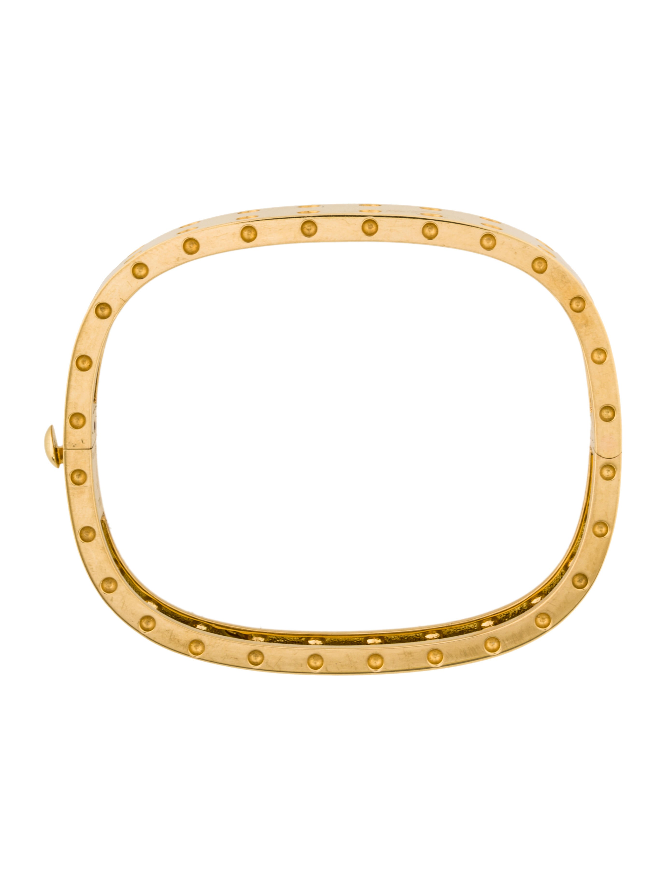roberto coin 18k pois mois bangle bracelet bracelets. Black Bedroom Furniture Sets. Home Design Ideas