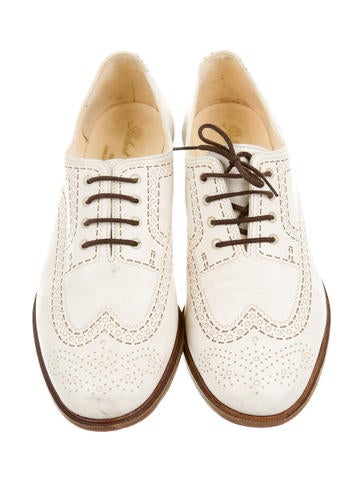 Brogue Leather Oxfords