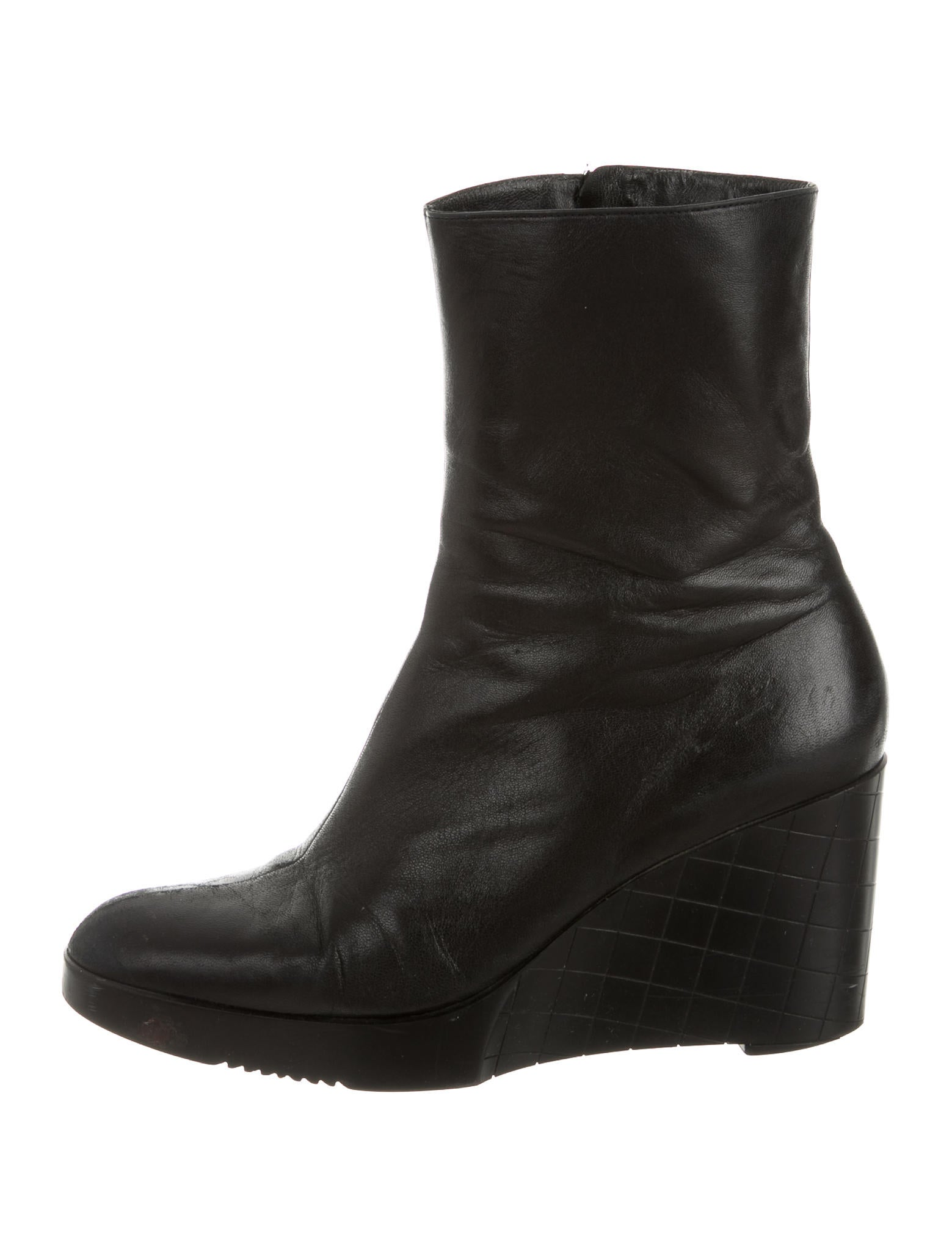 robert clergerie wedge ankle boots shoes rog23398