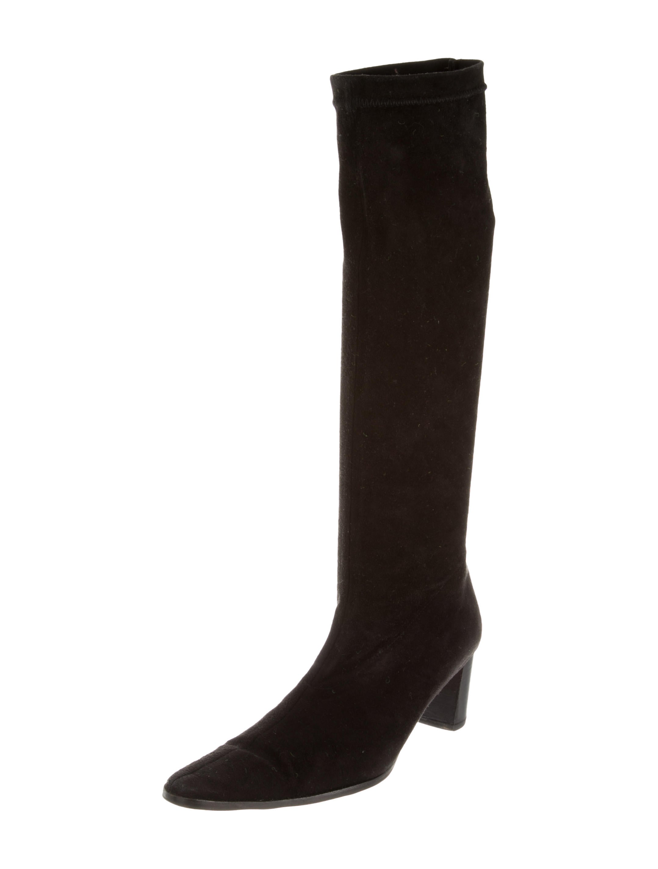 robert clergerie suede knee high boots shoes rog23406