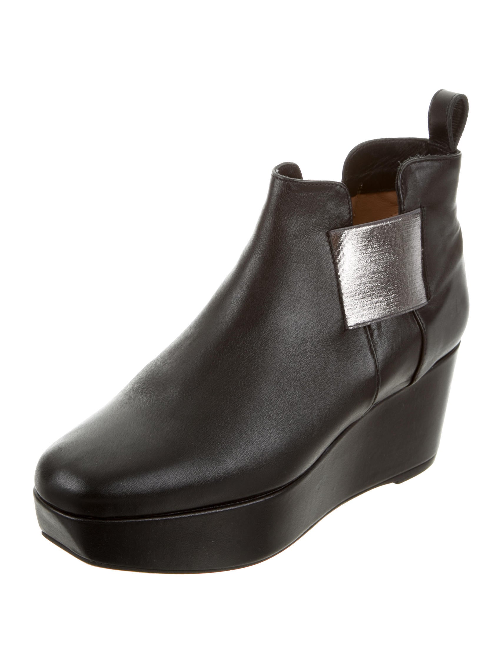 robert clergerie wedge ankle boots shoes rog24019