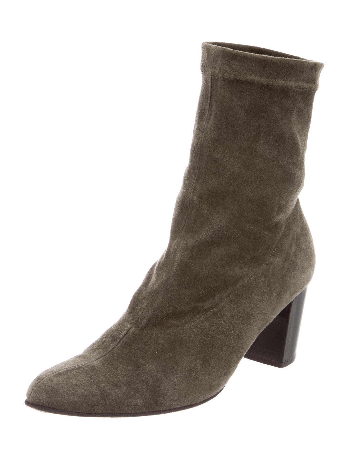robert clergerie suede ankle boots shoes rog25004