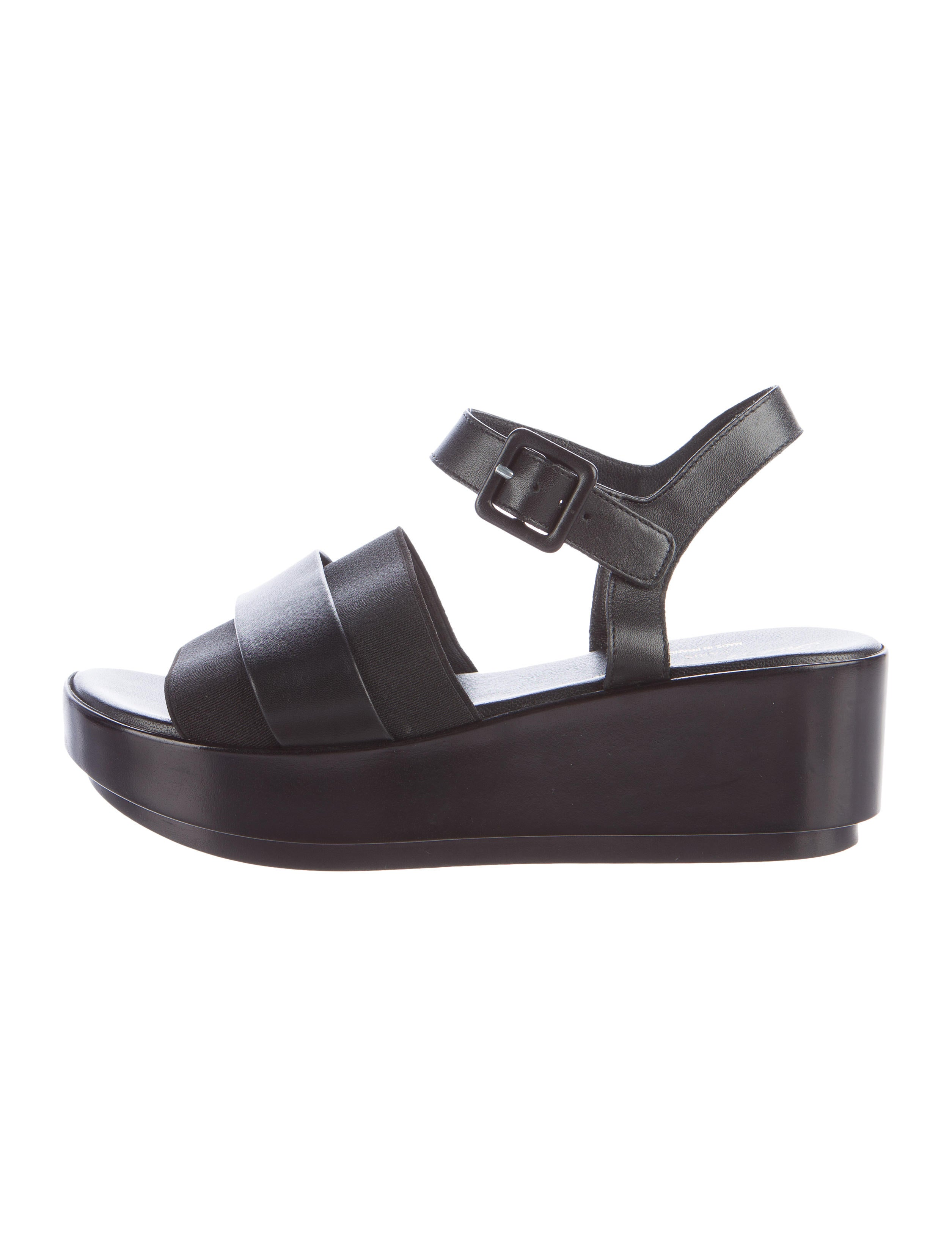 robert clergerie rubber platform sandals shoes