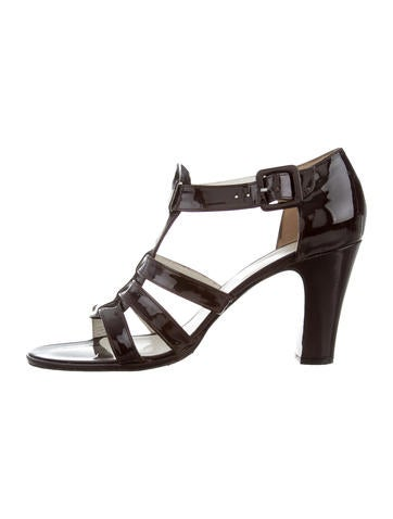Stella McCartney Chain-Link Satin Sandals sale largest supplier cheap sale for nice real online sale new arrival cheap sale browse w3RVSwy