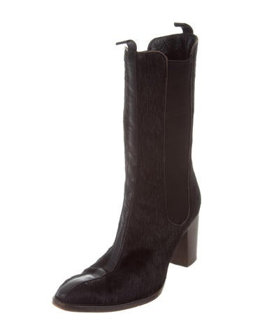 Robert Clergerie Ponyhair Mid-Calf Boots sale with credit card looking for cheap price cheap sale get authentic WG93XQ