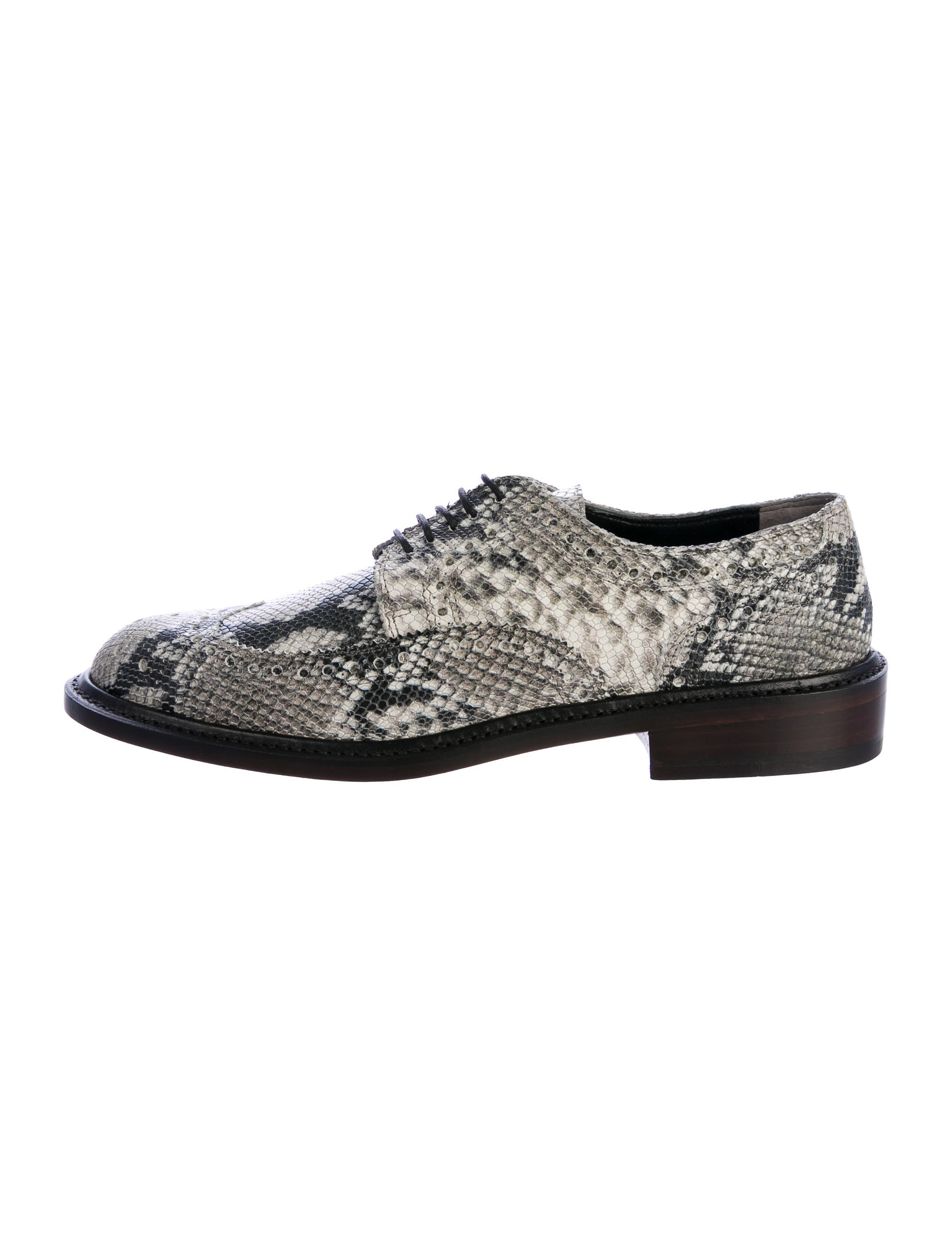 cheap wholesale Robert Clergerie Embossed Brogue Oxfords w/ Tags 2014 new online Gd1tRydW8o