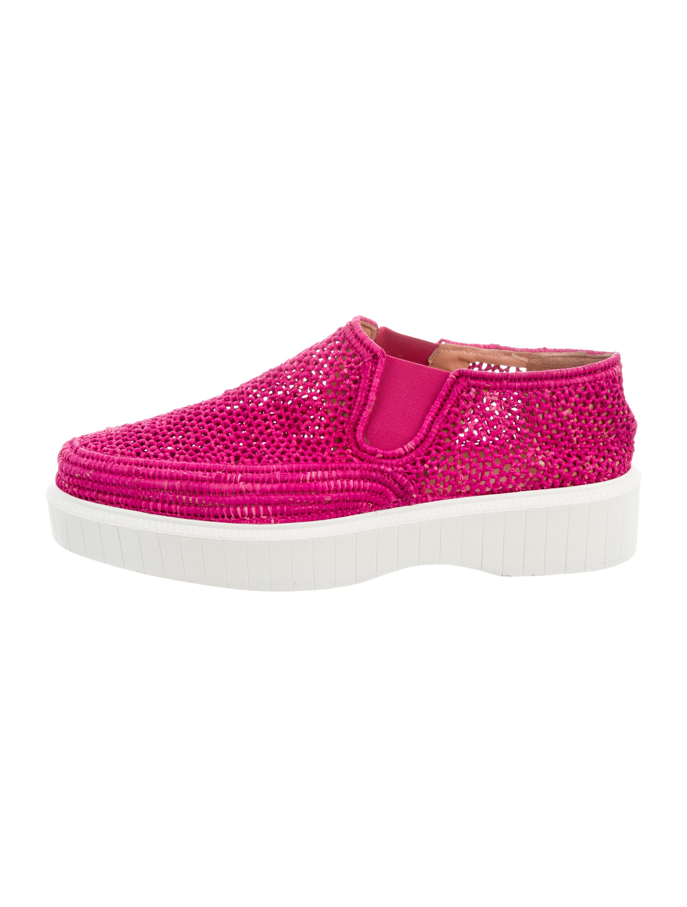 Robert Clergerie Platform Slip-On Sneakers - Shoes - ROG27112 | The RealReal