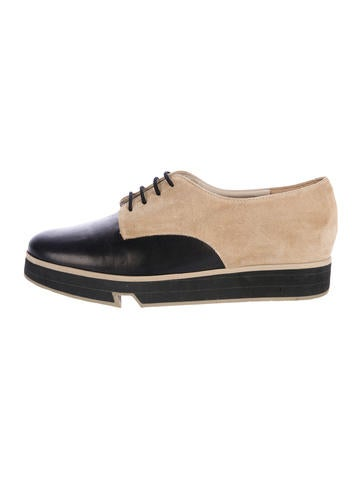 Robert Clergerie Bicolor Round-Toe Oxfords store cheap price outlet from china popular cheap price sale fake j1TAvgJoYf