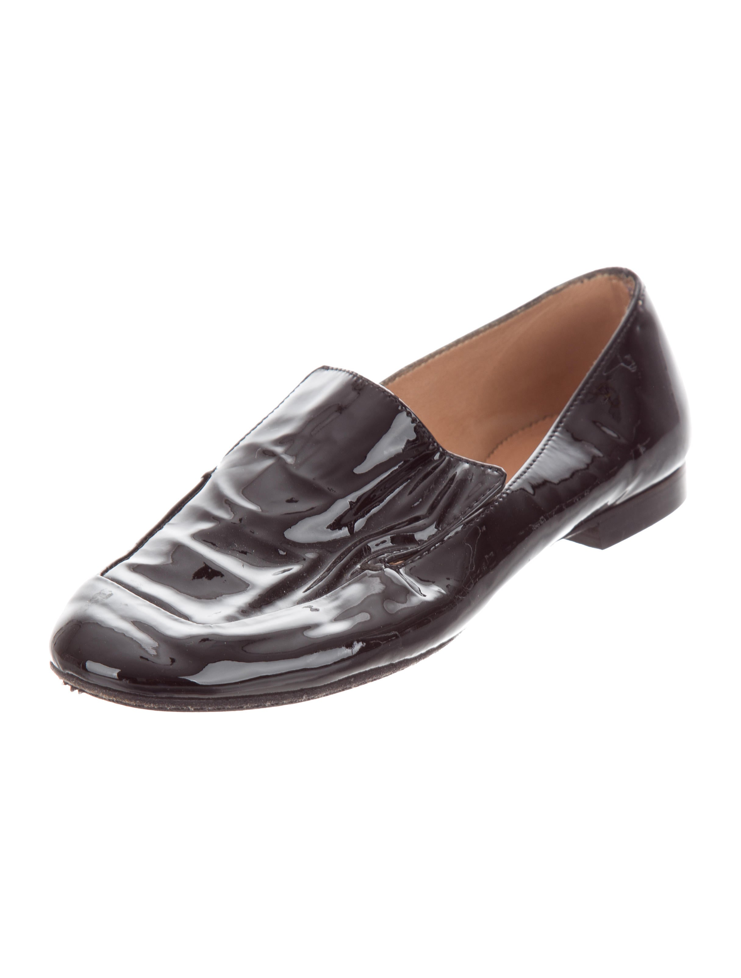 Robert Clergerie Patent Leather Round-Toe Loafers official site online clearance outlet locations free shipping cheap shipping outlet store online SUuNVed0