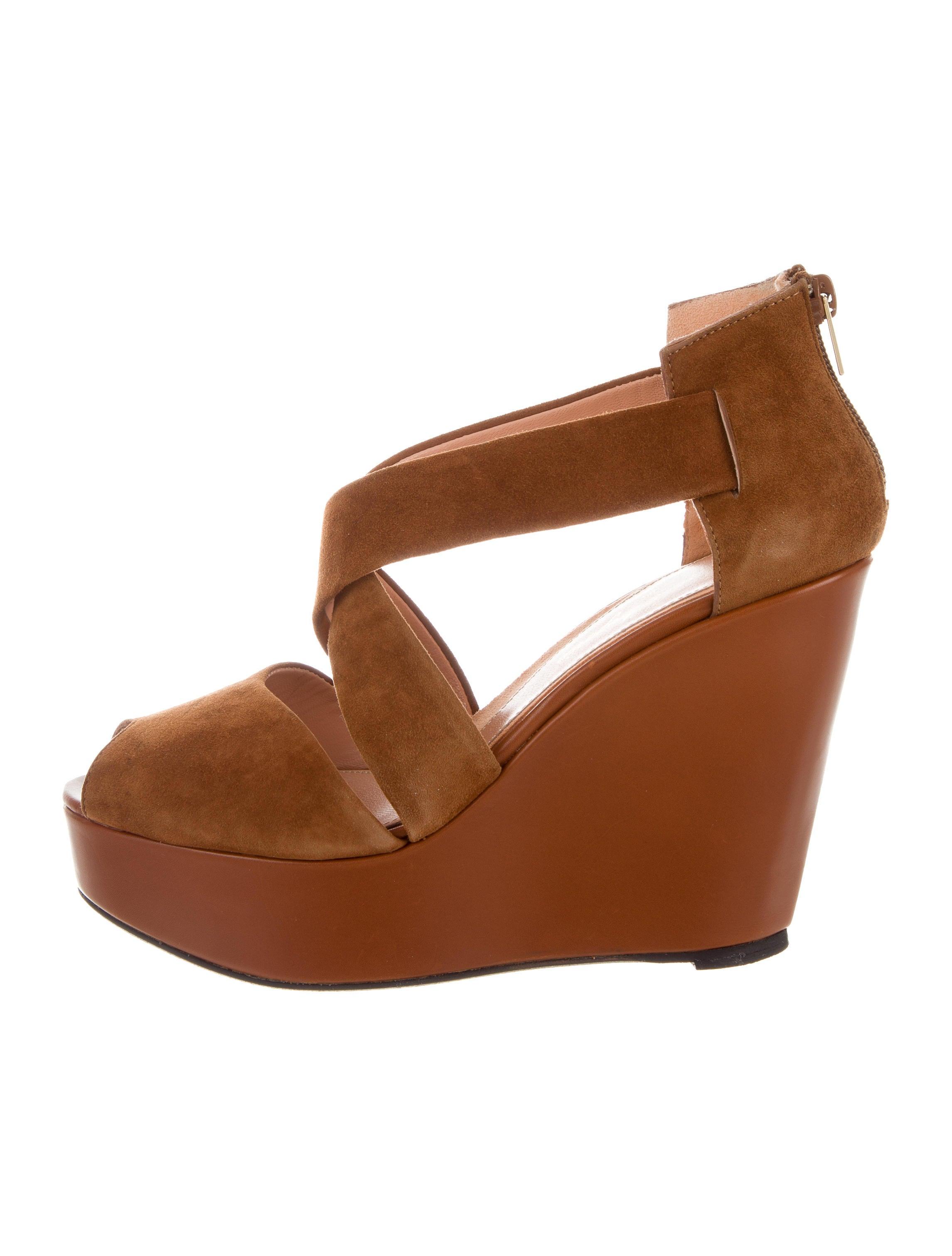 enjoy sale online Robert Clergerie Borset Wedge Sandals cheap sale for nice manchester great sale for sale uOPSXL