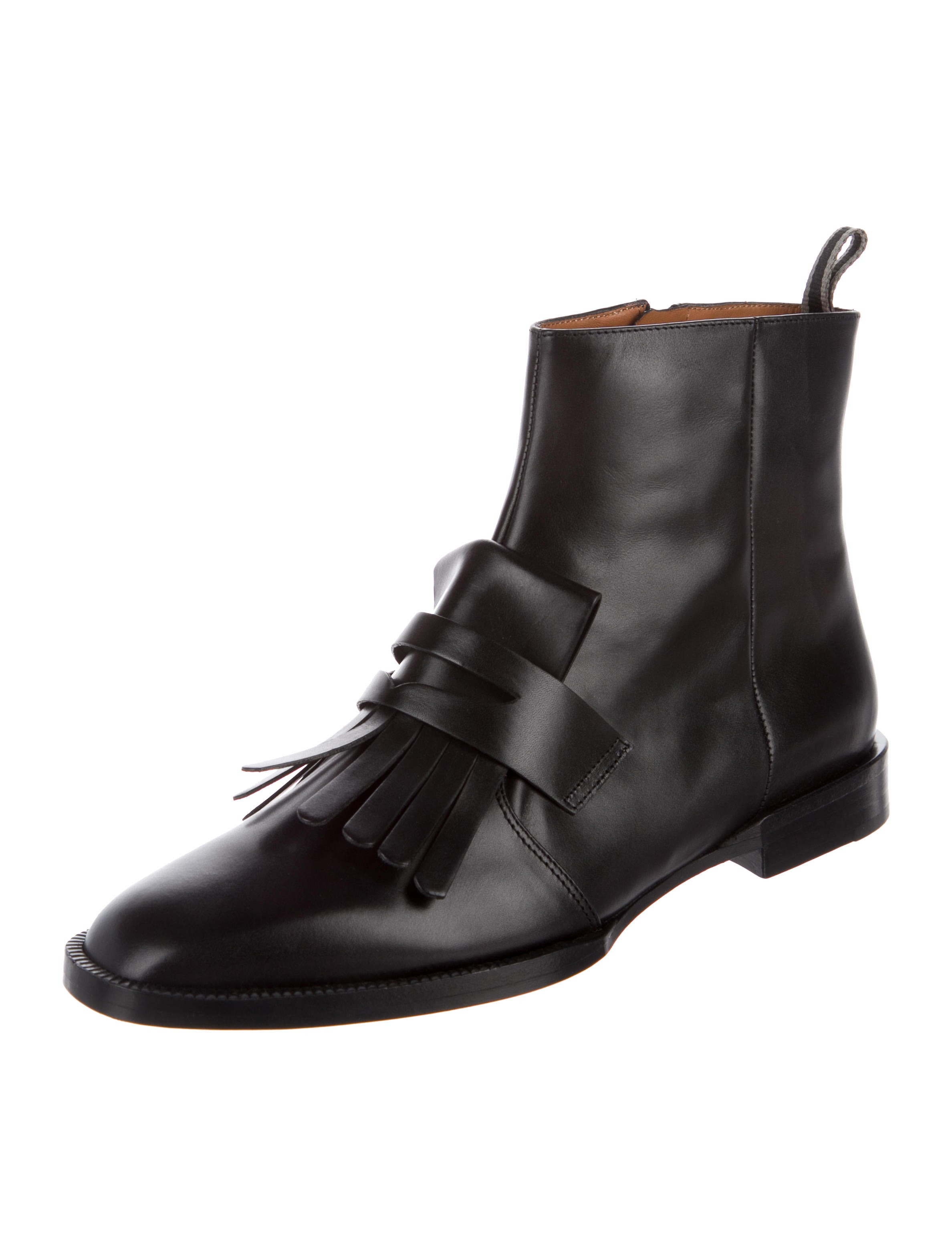 Robert Clergerie Yousc Kiltie Booties w/ Tags hot sale cheap price free shipping shop offer clearance low price cheap professional outlet get to buy 9ehFJ