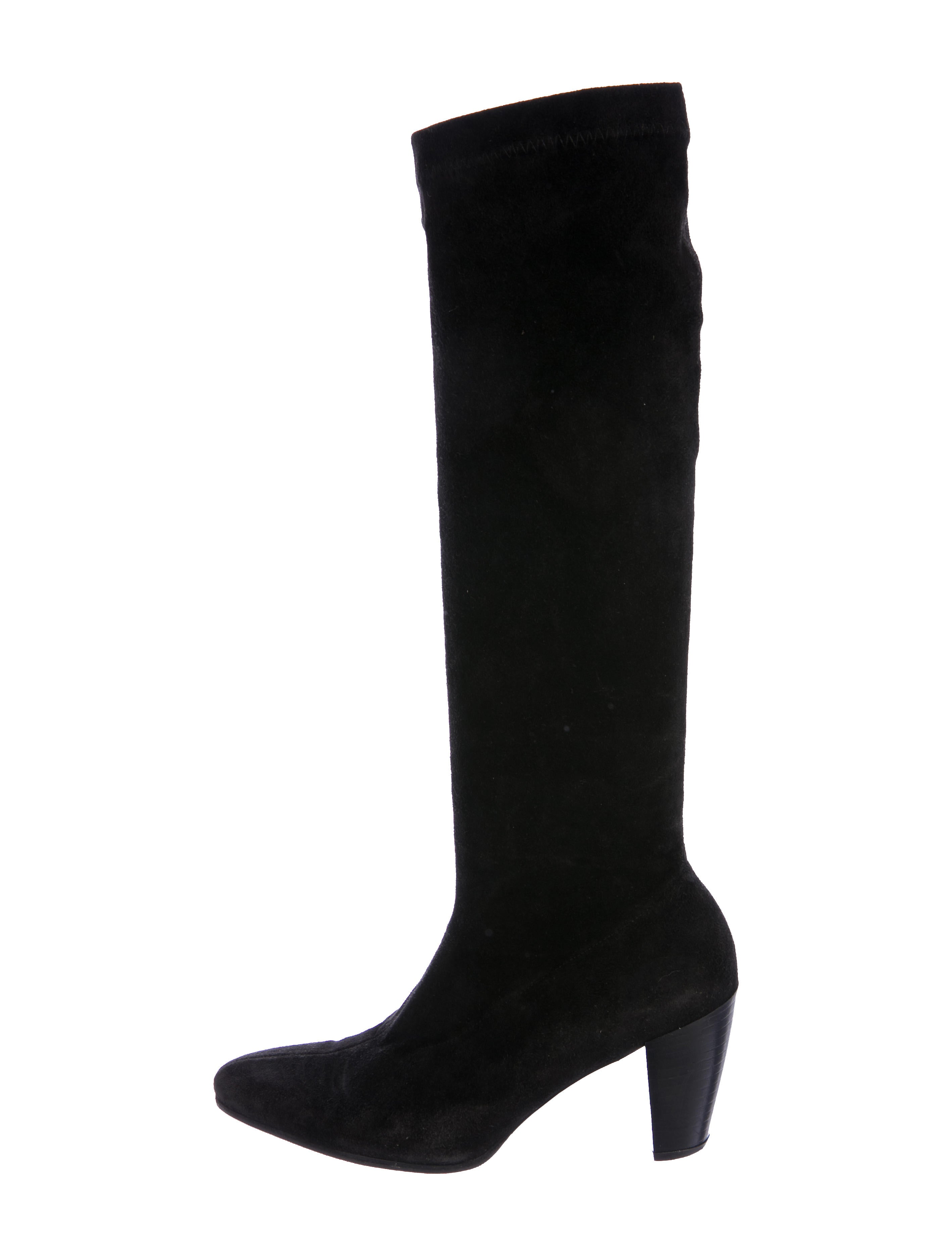 Robert Clergerie Suede Knee-High Boots latest cheap price fML0Q