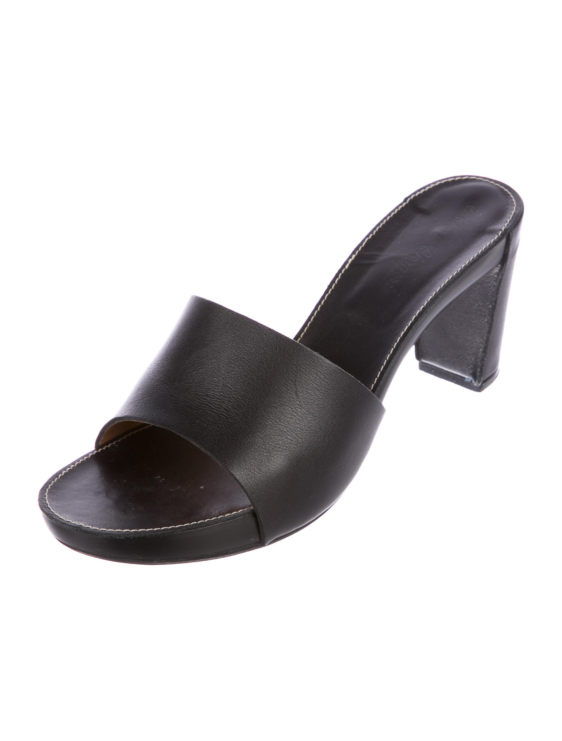 order for sale Robert Clergerie Cranby Leather Sandals excellent outlet cheap quality veluh4HNm9