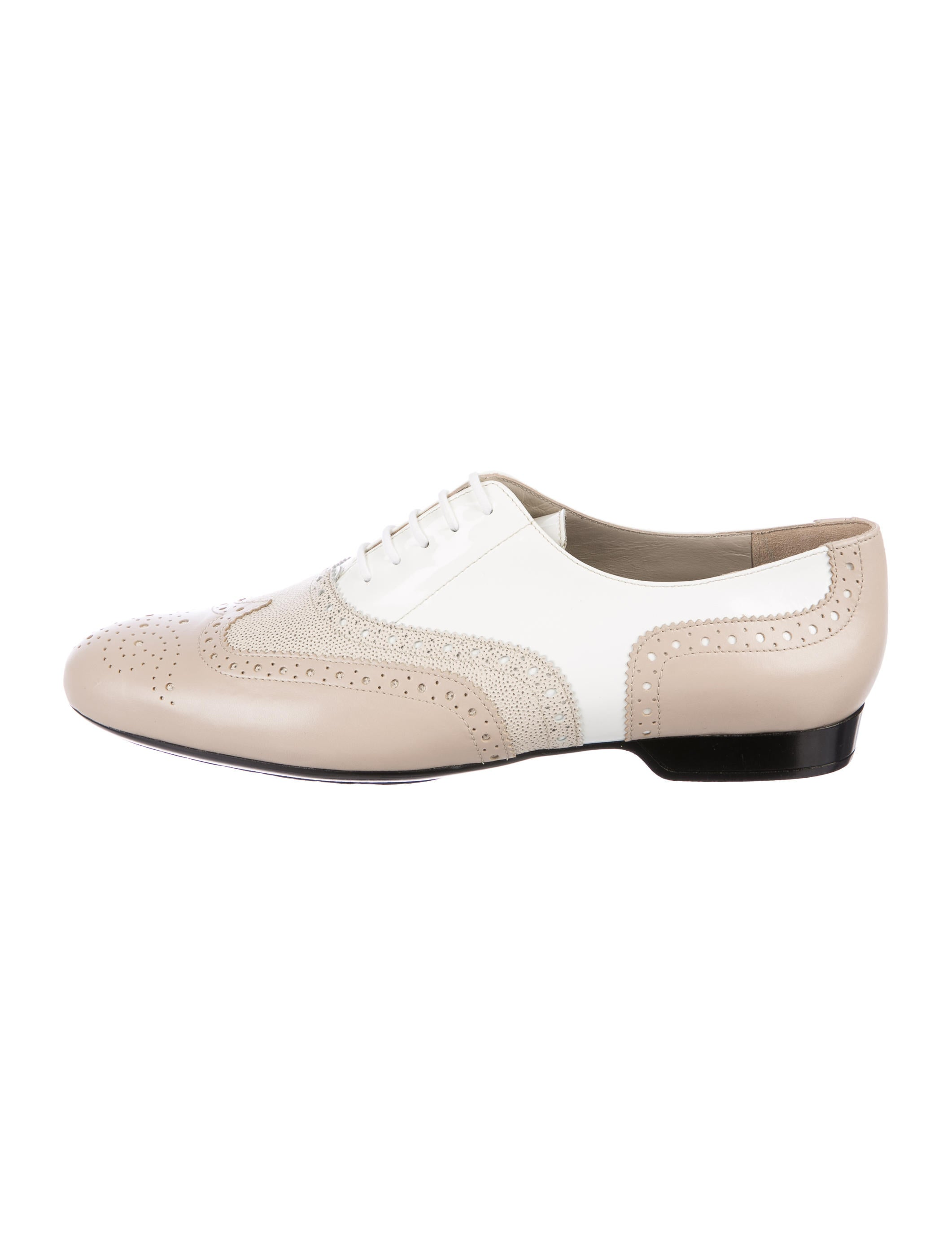 Robert Clergerie Wingtip Leather Oxfords w/ Tags cheap discounts prices cheap online free shipping original 2qSKxSgK