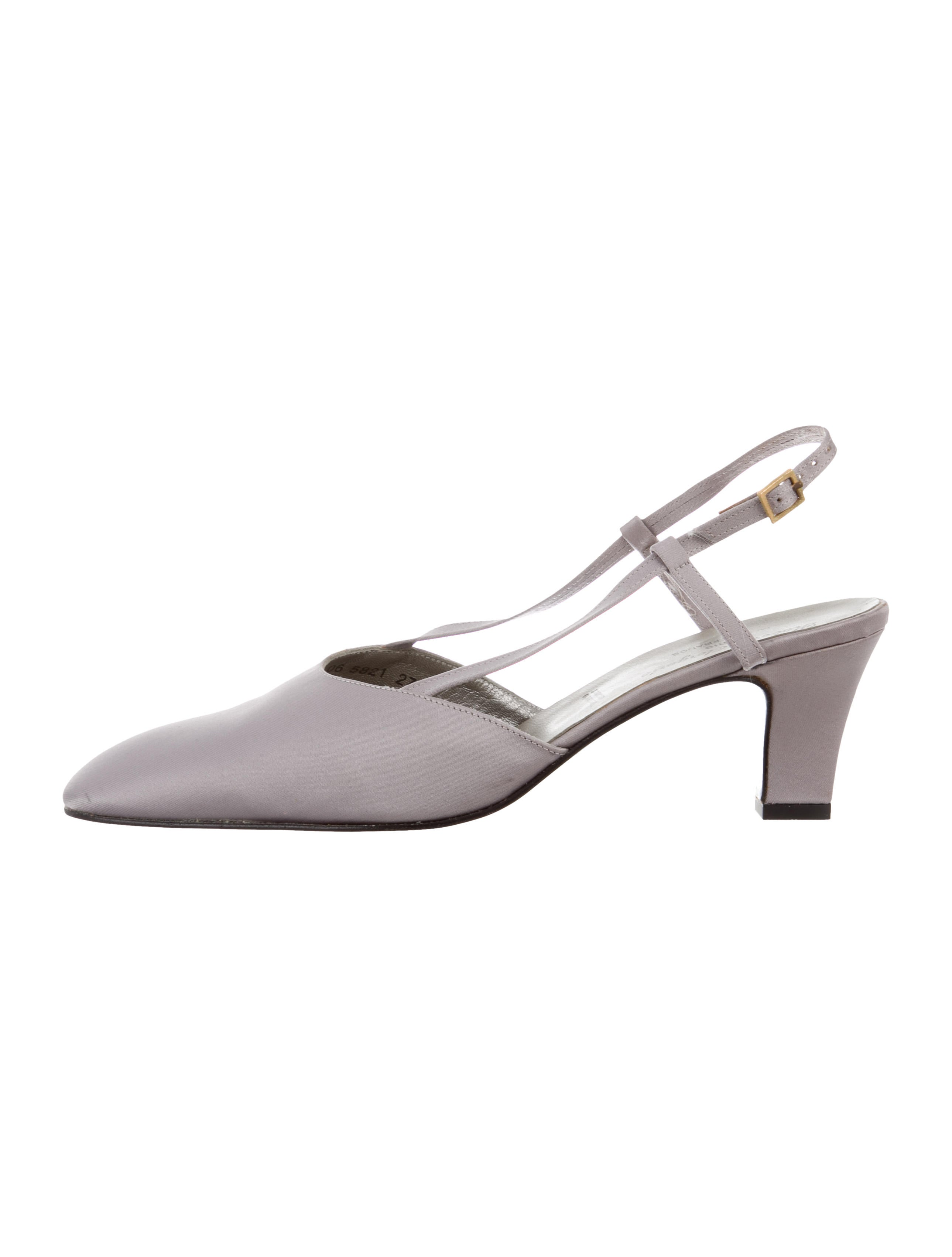 Robert Clergerie Clergerie Paris Slingback Square-Toe Pumps best seller sale online cheap sale best wholesale sale visit new clearance Manchester free shipping with mastercard IizBlsJ
