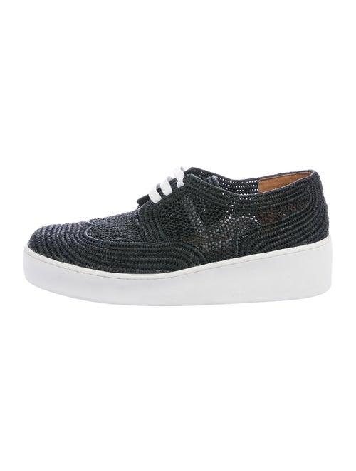 Robert Clergerie Taille Platform Sneakers Black