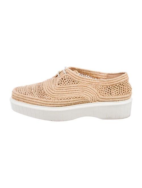 Robert Clergerie Raffia Sneakers